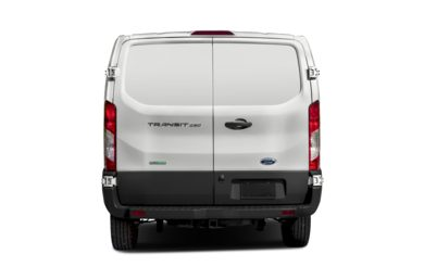 Rear Profile  2017 Ford Transit-350