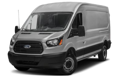 3/4 Front Glamour 2015 Ford Transit-250