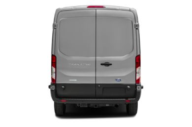 Rear Profile  2015 Ford Transit-250