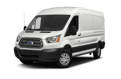 3/4 Front Glamour 2015 Ford Transit-350