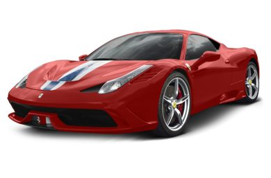 3/4 Front Glamour 2015 Ferrari 458 Speciale