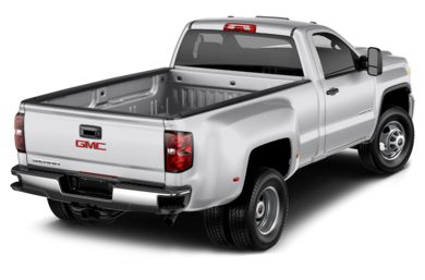 3/4 Rear Glamour  2015 GMC Sierra 3500HD