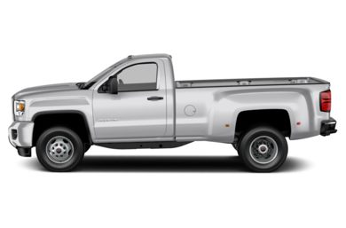 90 Degree Profile 2015 GMC Sierra 3500HD