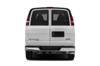 Rear Profile  2017 GMC Savana 3500