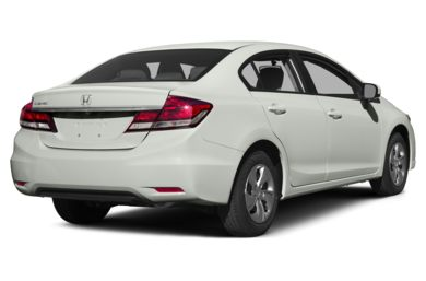 3/4 Rear Glamour  2015 Honda Civic