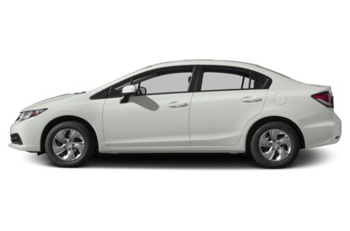 90 Degree Profile 2015 Honda Civic