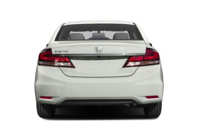 Rear Profile  2015 Honda Civic