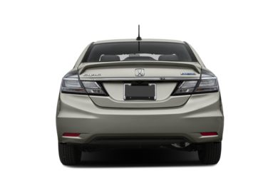 Rear Profile  2015 Honda Civic Hybrid