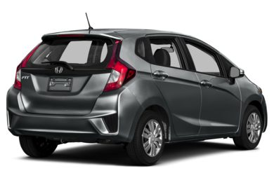3/4 Rear Glamour  2015 Honda Fit