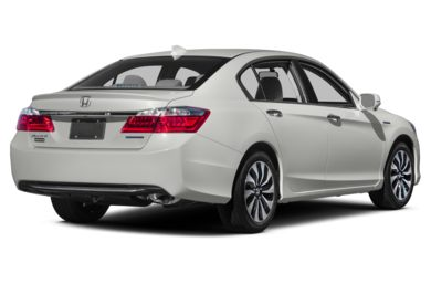 3/4 Rear Glamour  2014 Honda Accord Hybrid