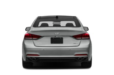 Rear Profile  2015 Hyundai Genesis Sedan