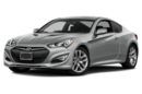 3/4 Front Glamour 2016 Hyundai Genesis Coupe