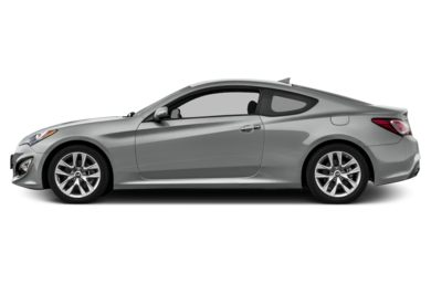 90 Degree Profile 2016 Hyundai Genesis Coupe
