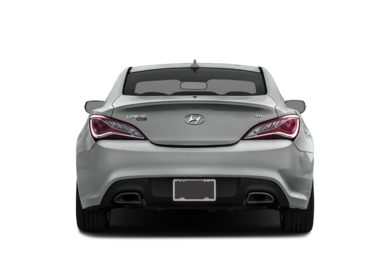 Rear Profile  2016 Hyundai Genesis Coupe
