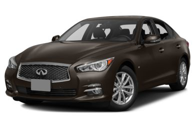 3/4 Front Glamour 2016 Infiniti Q50