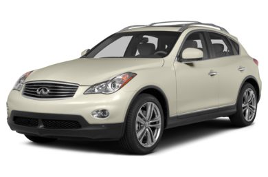 3/4 Front Glamour 2015 Infiniti QX50