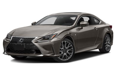 3/4 Front Glamour 2017 Lexus RC 350