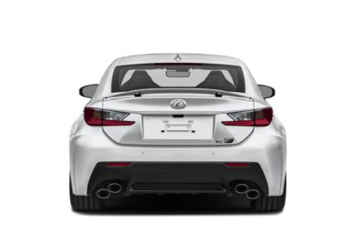 Rear Profile  2015 Lexus RC F
