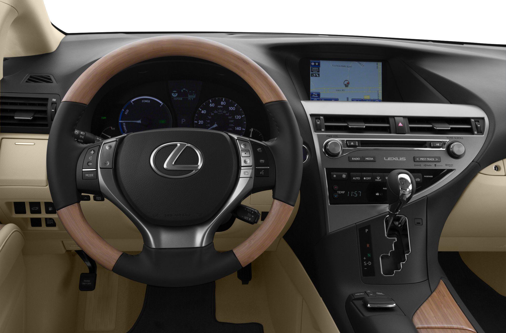 2015 Lexus RX 450h Interior