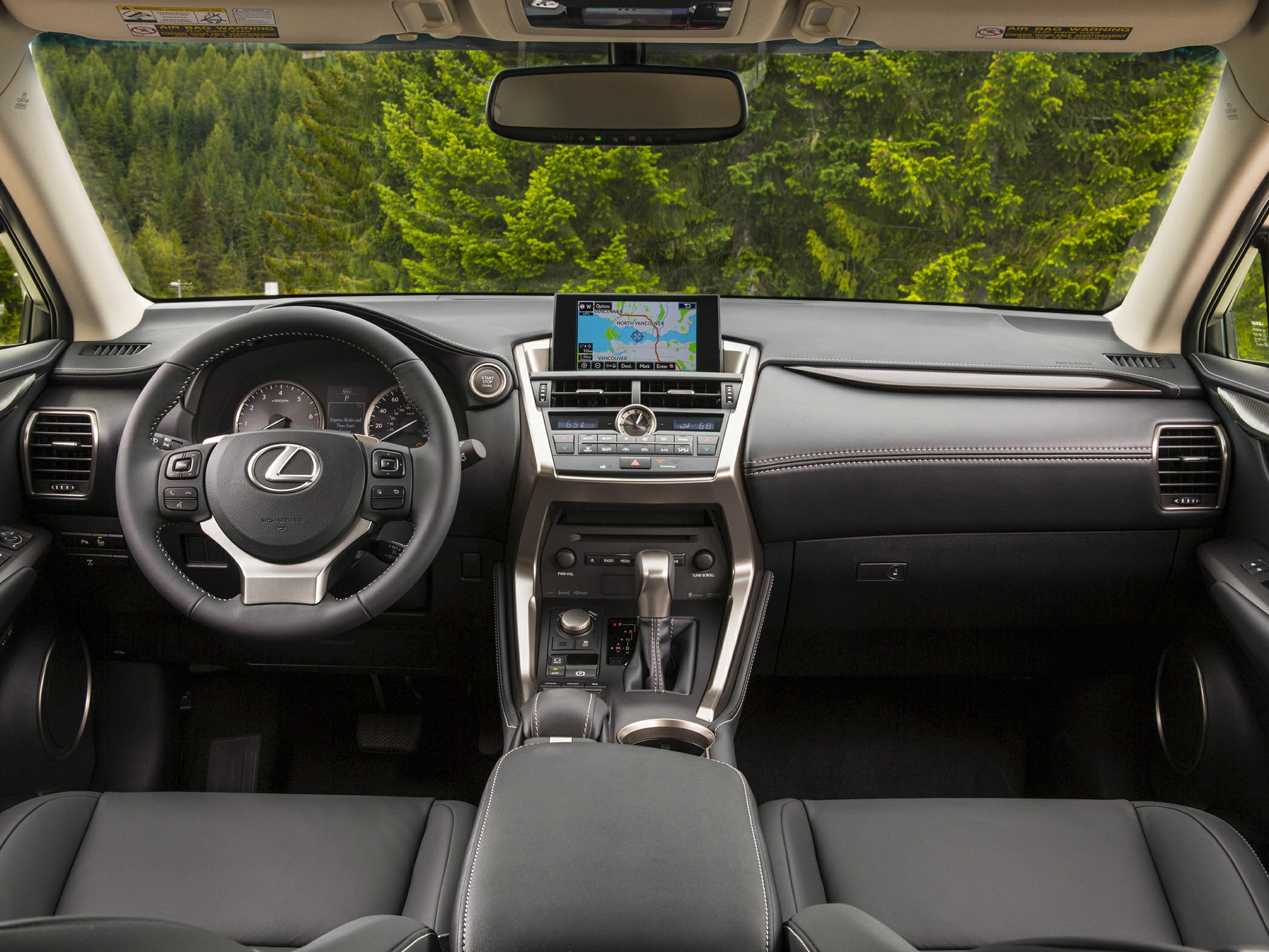 Lexus NX 200t Dash