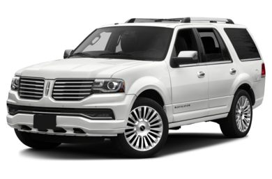 3/4 Front Glamour 2016 Lincoln Navigator