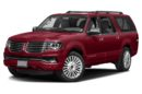 3/4 Front Glamour 2017 Lincoln Navigator L