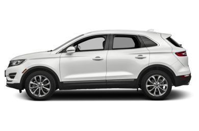 90 Degree Profile 2017 Lincoln MKC