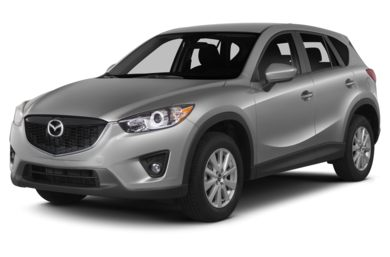 3/4 Front Glamour 2015 Mazda CX-5