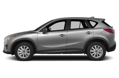 90 Degree Profile 2015 Mazda CX-5