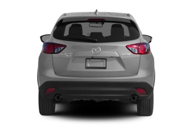 Rear Profile  2015 Mazda CX-5