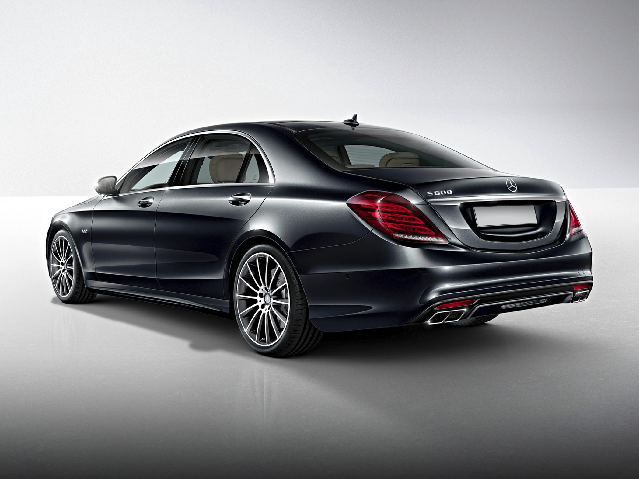 Benz Cl500 2015 2015 Mercedes-benz S600 Rear