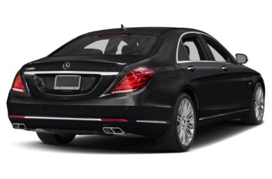 3/4 Rear Glamour  2015 Mercedes-Benz S600