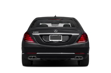 Rear Profile  2015 Mercedes-Benz S600