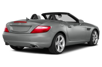 3/4 Rear Glamour  2015 Mercedes-Benz SLK350