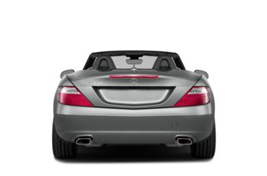 Rear Profile  2015 Mercedes-Benz SLK350