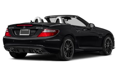 3/4 Rear Glamour  2016 Mercedes-Benz SLK55 AMG
