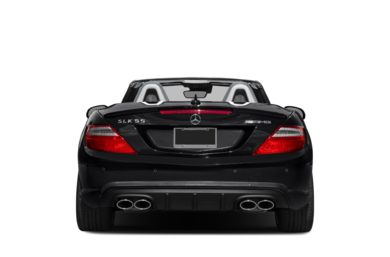 Rear Profile  2016 Mercedes-Benz SLK55 AMG