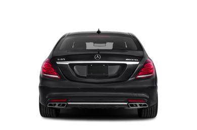 Rear Profile  2017 Mercedes-Benz S65 AMG