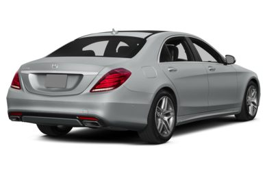 3/4 Rear Glamour  2015 Mercedes-Benz S550