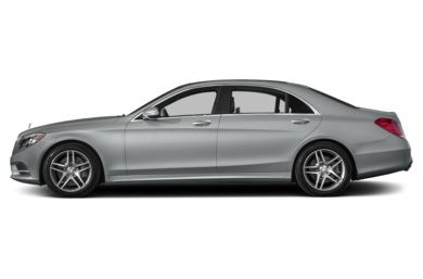 90 Degree Profile 2015 Mercedes-Benz S550
