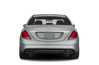 Rear Profile  2015 Mercedes-Benz S550