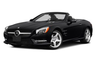 3/4 Front Glamour 2015 Mercedes-Benz SL550