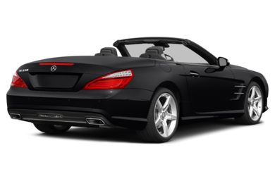3/4 Rear Glamour  2015 Mercedes-Benz SL550