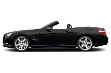 90 Degree Profile 2015 Mercedes-Benz SL550