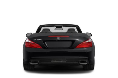 Rear Profile  2015 Mercedes-Benz SL550