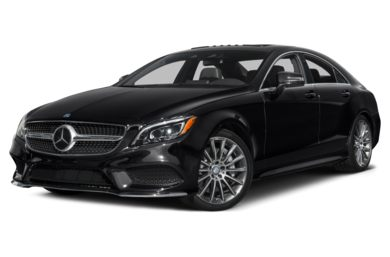 3/4 Front Glamour 2015 Mercedes-Benz CLS550