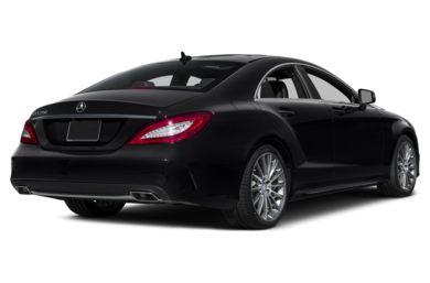 3/4 Rear Glamour  2015 Mercedes-Benz CLS550