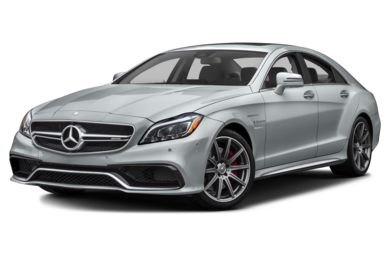 3/4 Front Glamour 2015 Mercedes-Benz CLS63 AMG