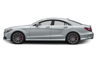 90 Degree Profile 2016 Mercedes-Benz CLS63 AMG