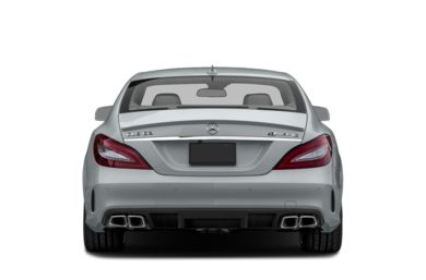 Rear Profile  2016 Mercedes-Benz CLS63 AMG
